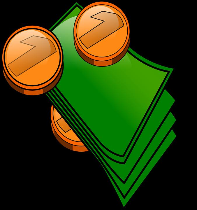 676x720 Money Clipart Vector