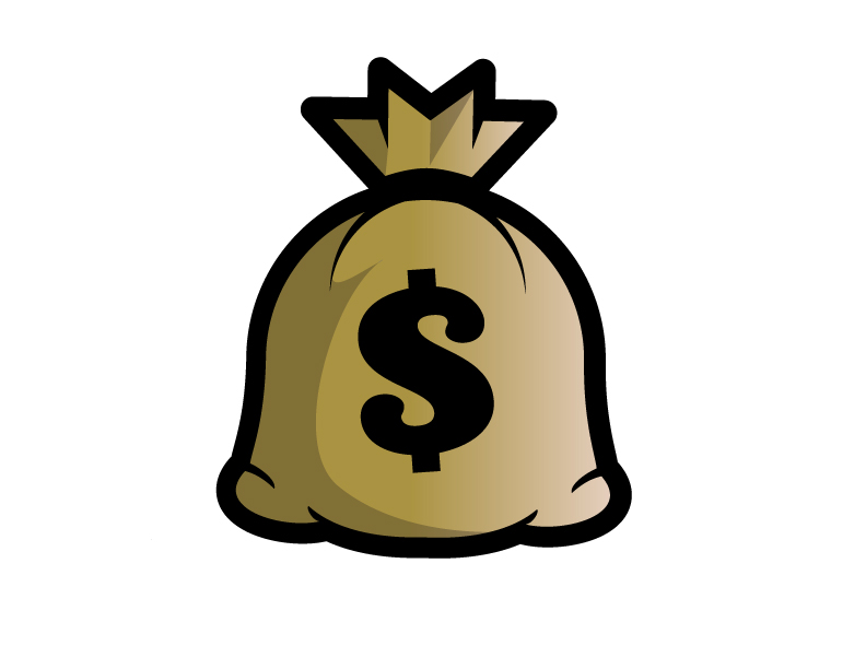 792x612 Clip Art Money Bag