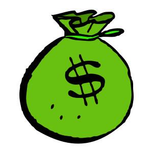 300x300 Money Bag Clip Art Free Clipart Images