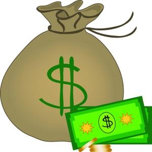 300x300 Money Bag Clip Art Of Money Tumundografico