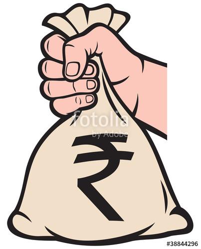 403x500 Money Clipart Hand Sign
