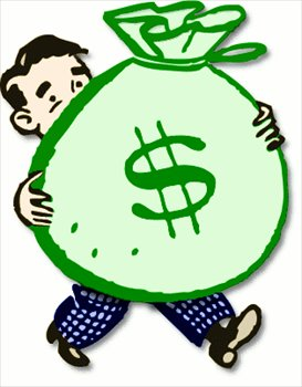 273x350 Free Bag Of Money Clipart