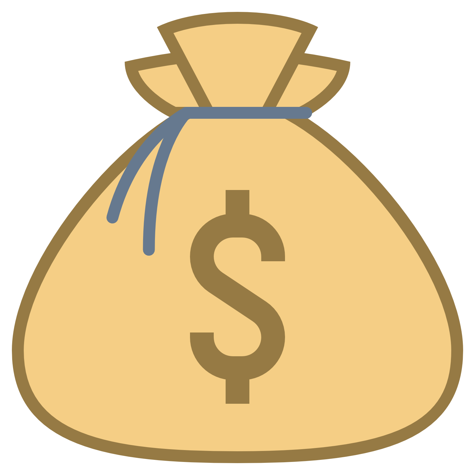 1600x1600 Money Bag Clipart