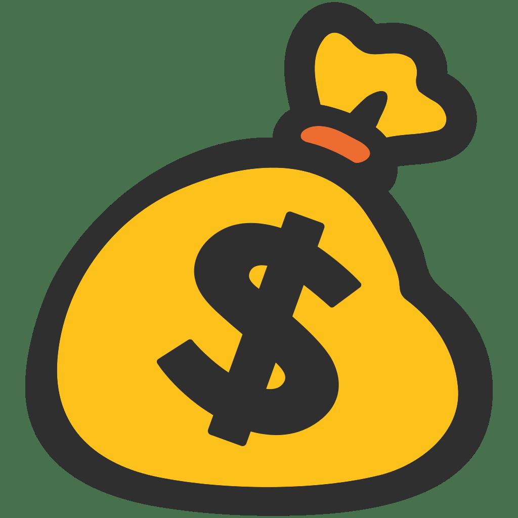 1024x1024 Money Bag Emoji Transparent Png