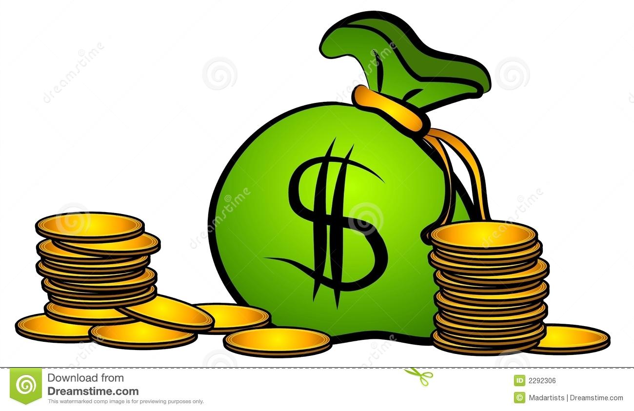 1300x843 Bag Of Money Clipart