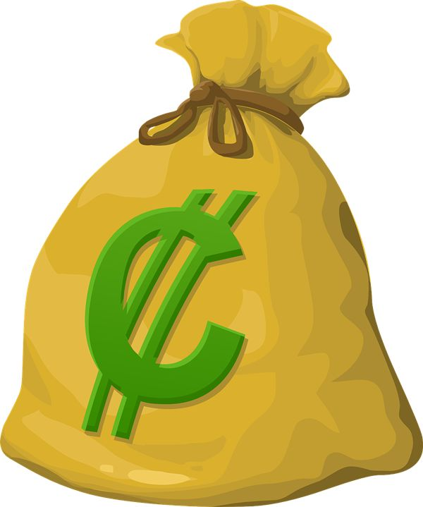 Money Bags Clipart