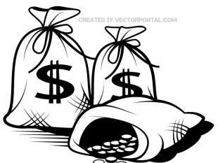 310x233 Bag Of Money clip art free vectors UI Download