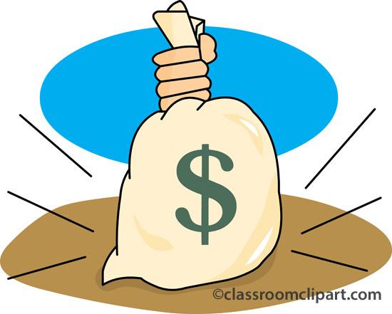 550x441 Money bag clipart transparent background clipartfest