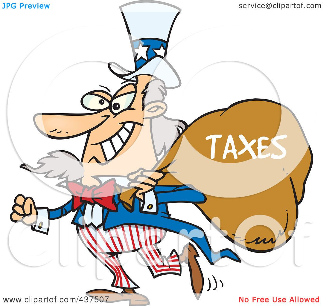 1080x1024 Royalty Free (Rf) Clip Art Illustration Of Uncle Sam Grinning