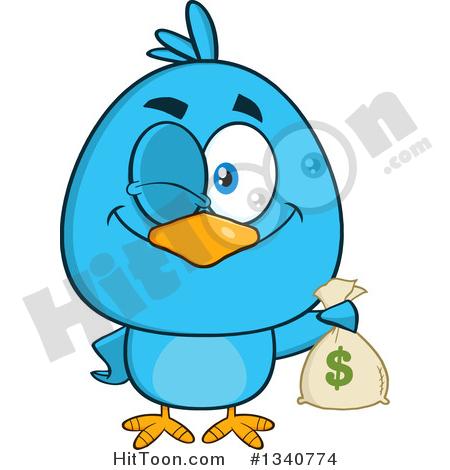 450x470 Blue Bird Clipart