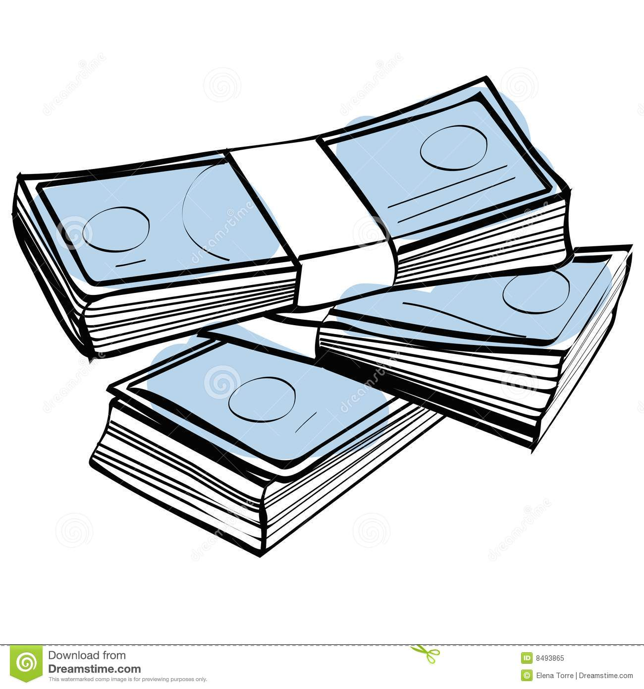 1300x1390 Buck Clipart Stack Money