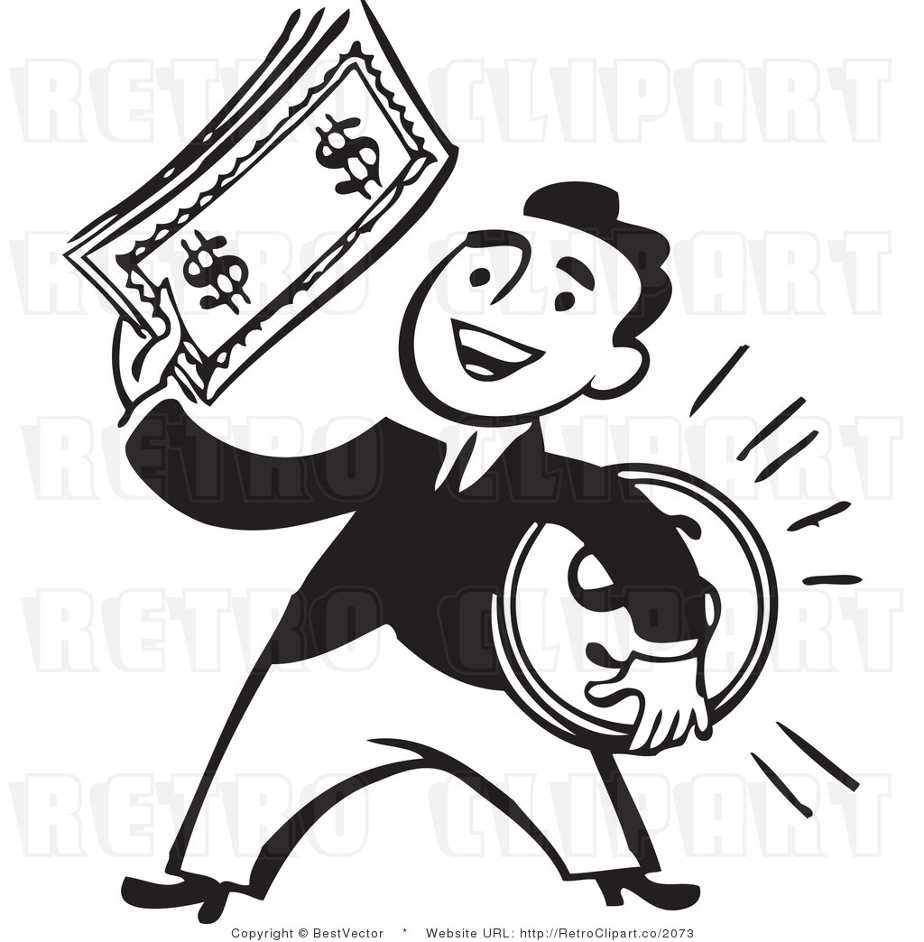 1024x1044 Money Clipart Black And White