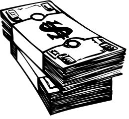259x240 Money Clipart Black And White Many Interesting Cliparts