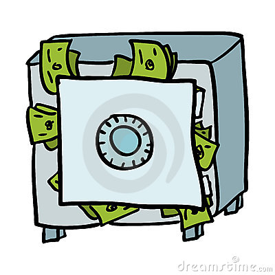 400x400 Money Vault Clipart