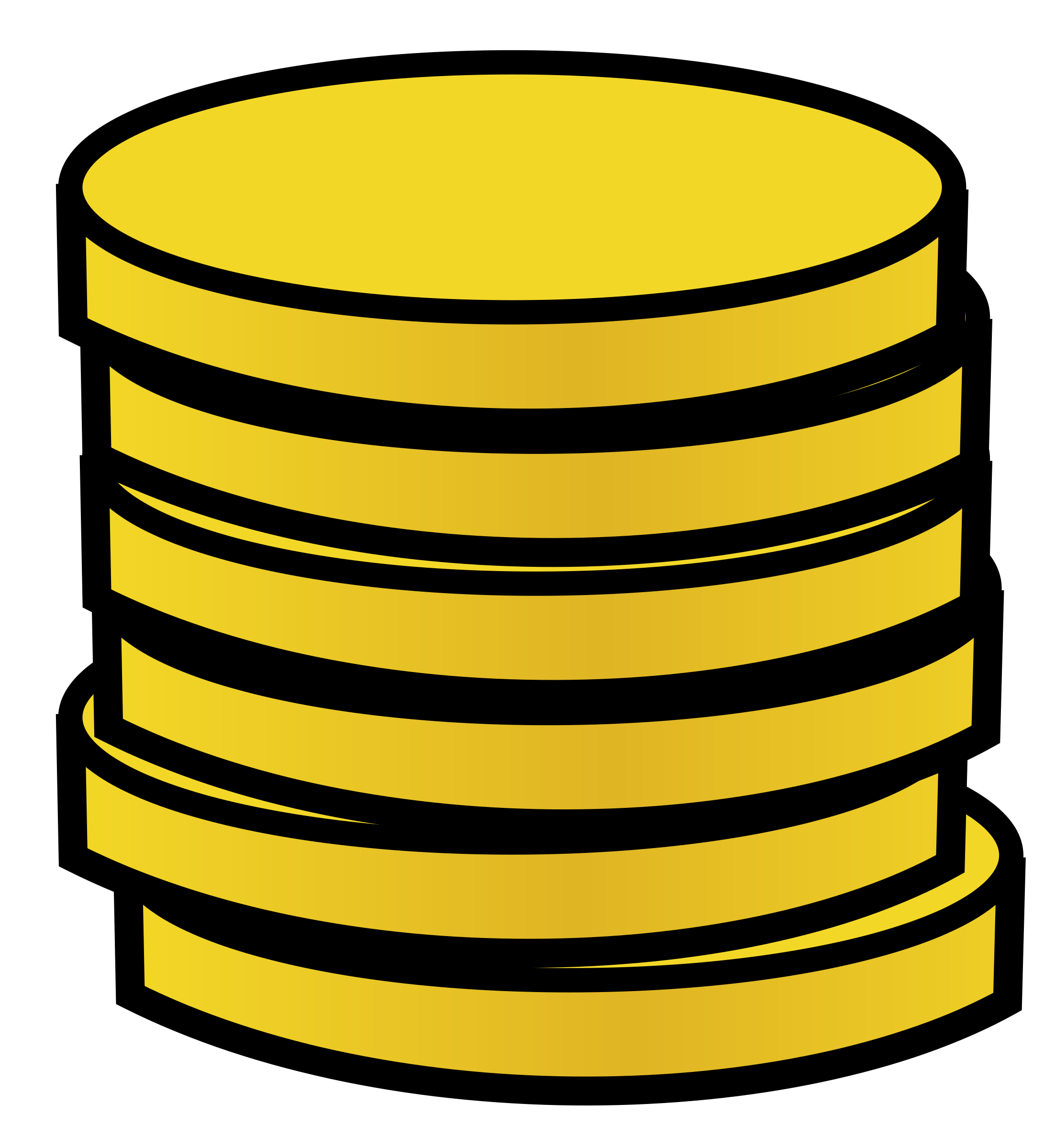 2182x2400 Gold Coin Clipart Clipart Panda