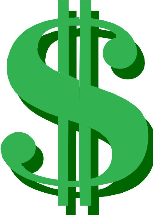 520x731 Money Clip Art