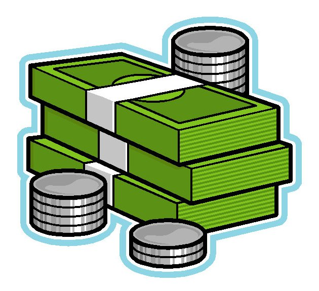 630x575 Stack Of Money Clipart
