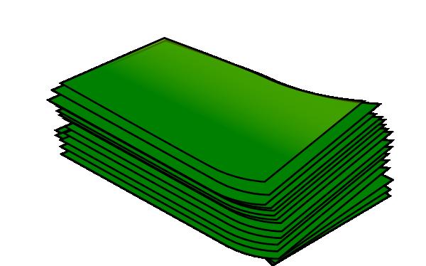 600x374 Wad Of Cash Clip Art