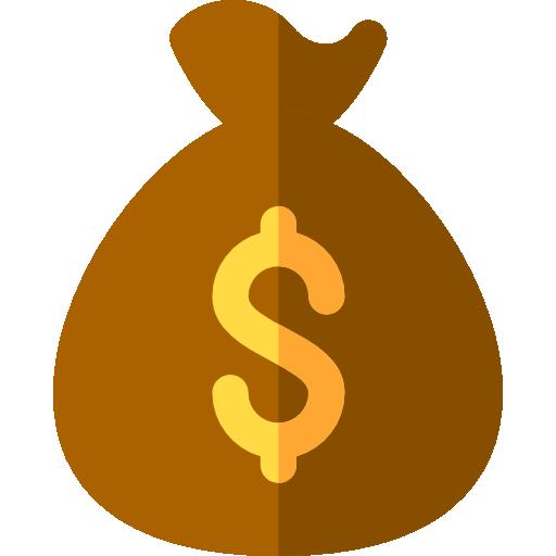 512x512 Dollar Symbol, Business And Finance, Bank, Banking, Money Bag