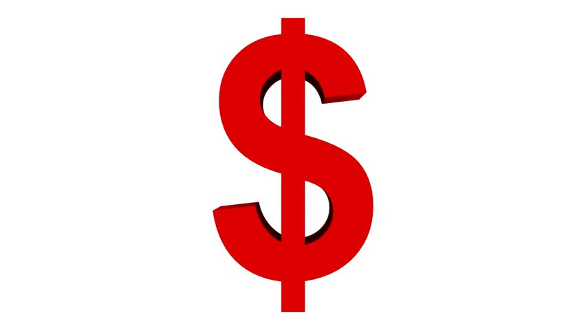 852x480 Red Clipart Dollar Sign