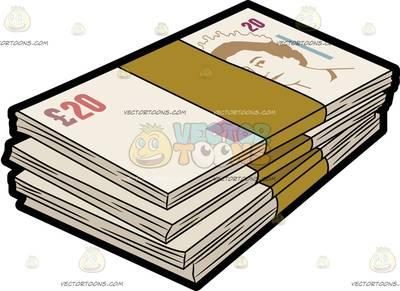 400x291 British Pounds Clipart
