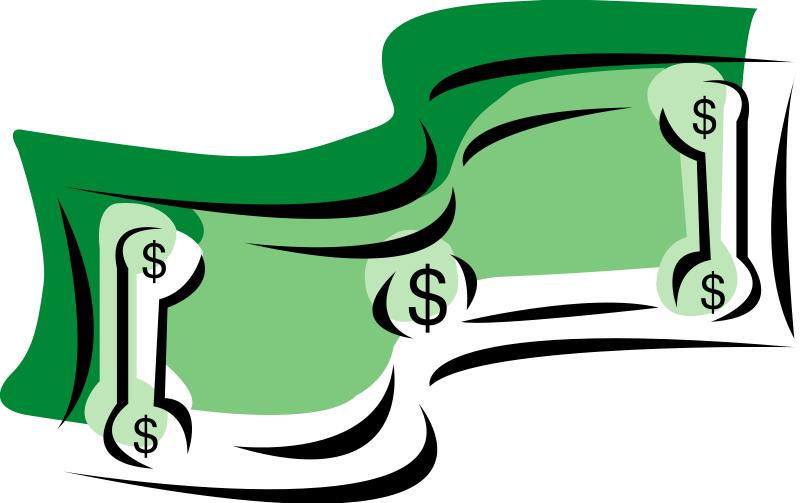 Dollar sign translucent. Money transparent free download