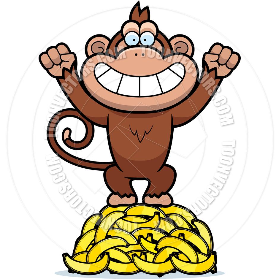 940x940 Monkey Banana Clipart Clipart Panda