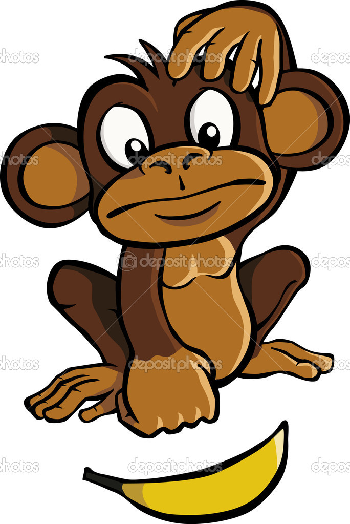 684x1023 Monkey Throwing Bananas Clip Art – Cliparts