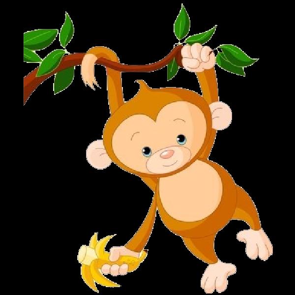 600x600 Monkey Images Clip Art 2