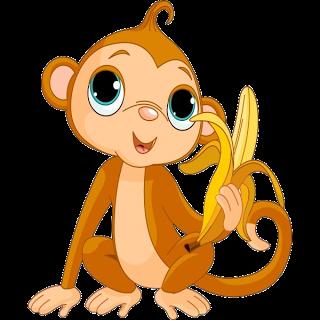 320x320 Monkeys Cartoon Clip Art Cakes