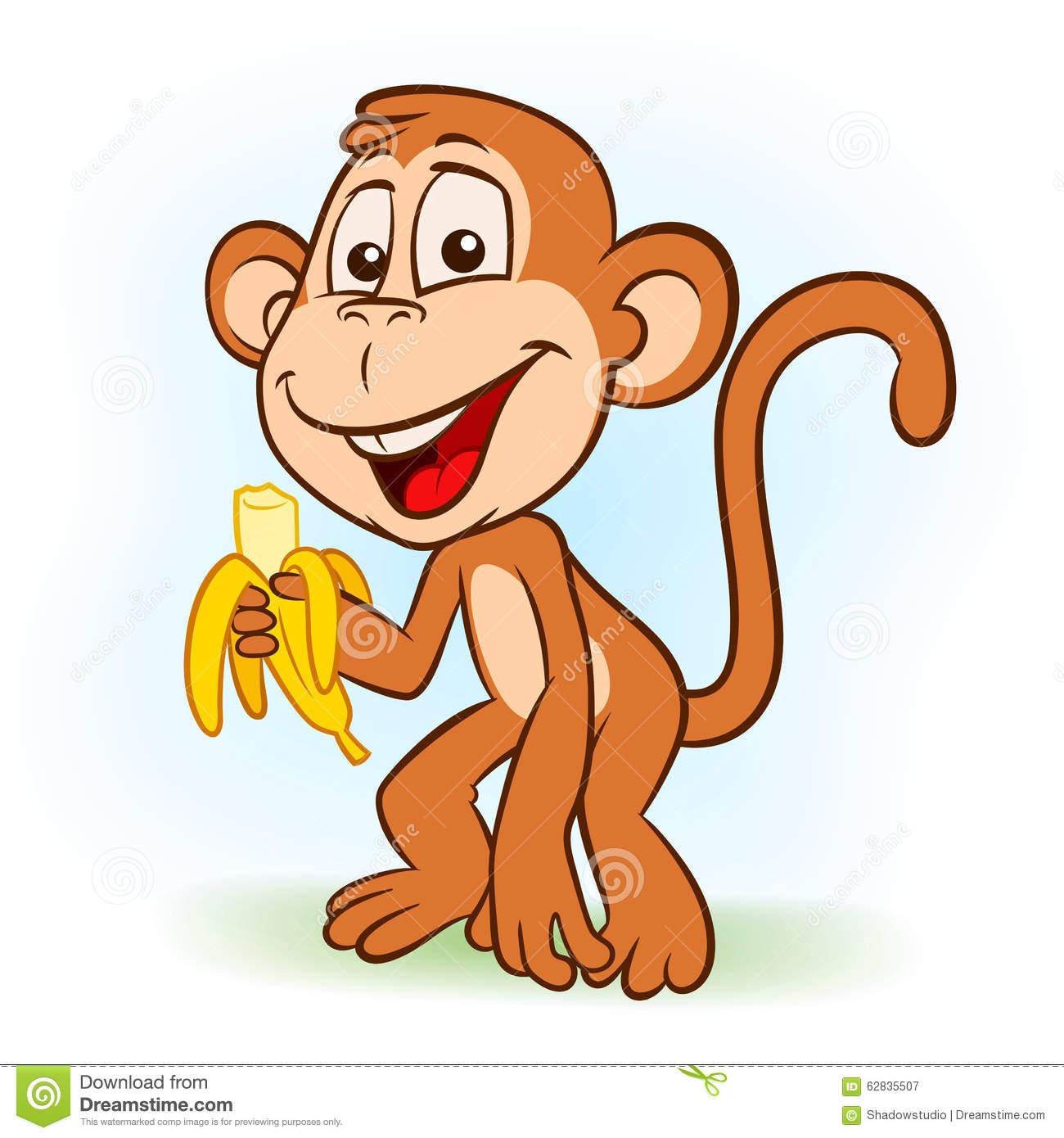 1300x1390 The Monkey Eat Banana Clip Art Cliparts