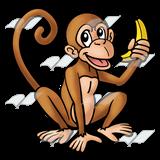 160x160 Abeka Clip Art Brown A Banana