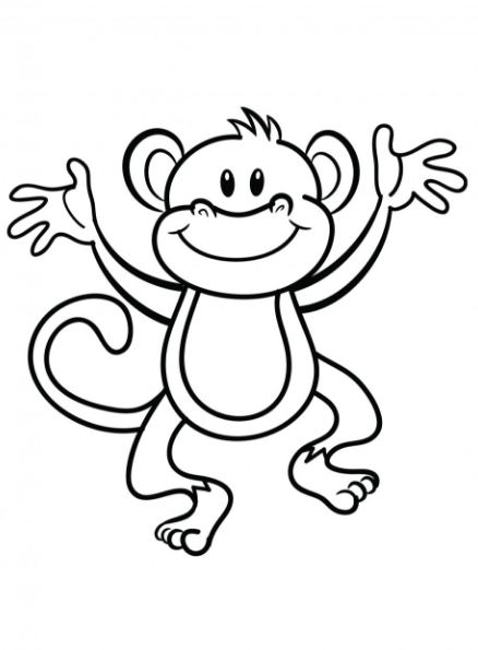 438x595 Latest{30}  Monkey Clipart Images With High Resolutions Free Download