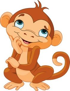 236x304 Cute Cartoon Monkeys Monkeys Cartoon Clip Art Cartoon Images