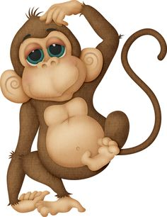 236x306 Cute Cartoon Monkeys Monkeys Cartoon Clip Art Cartoon Images