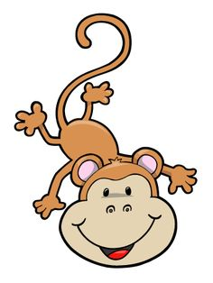 236x314 Hanging Monkey Clipart