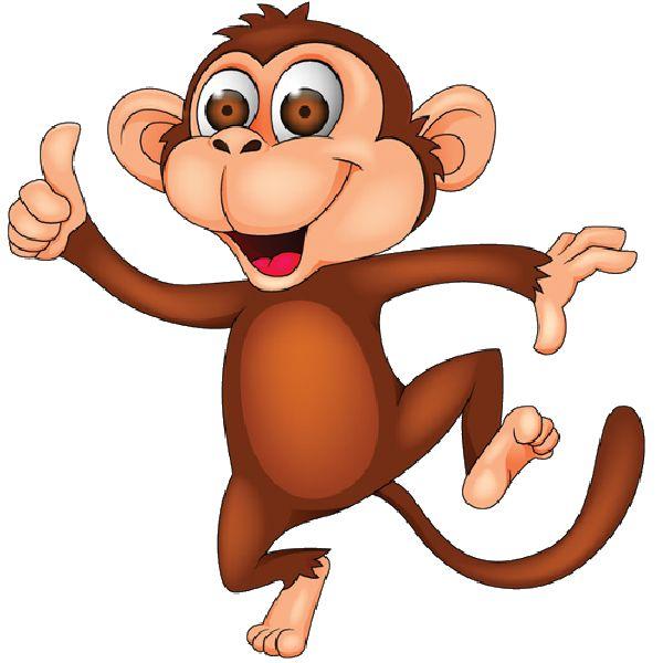 600x600 Monkey clip art 3