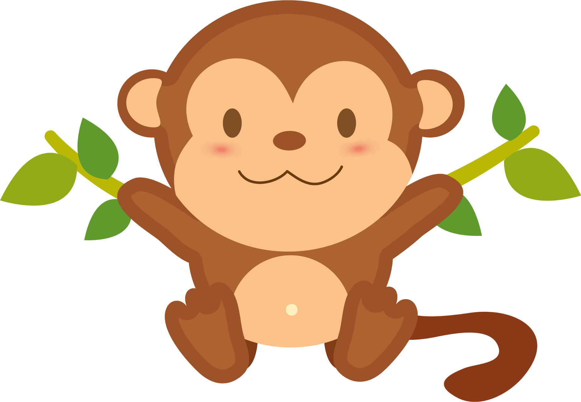 1850x1280 Monkey clip art for teachers free clipart images