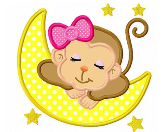 340x270 Sleeping clipart monkey