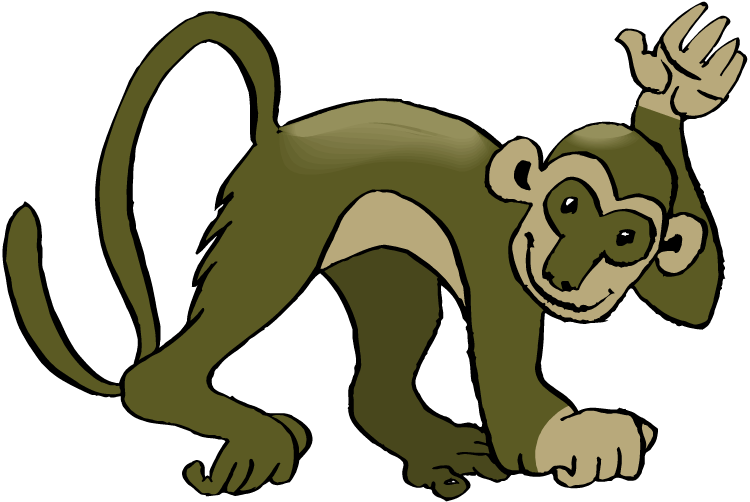 750x502 Top 92 Spider Monkey Clip Art