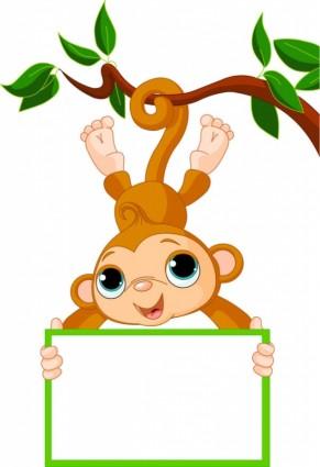 291x425 monkey clip art