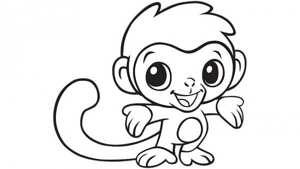 600x338 Cute Monkey Clipart 5 Nice Clip Art