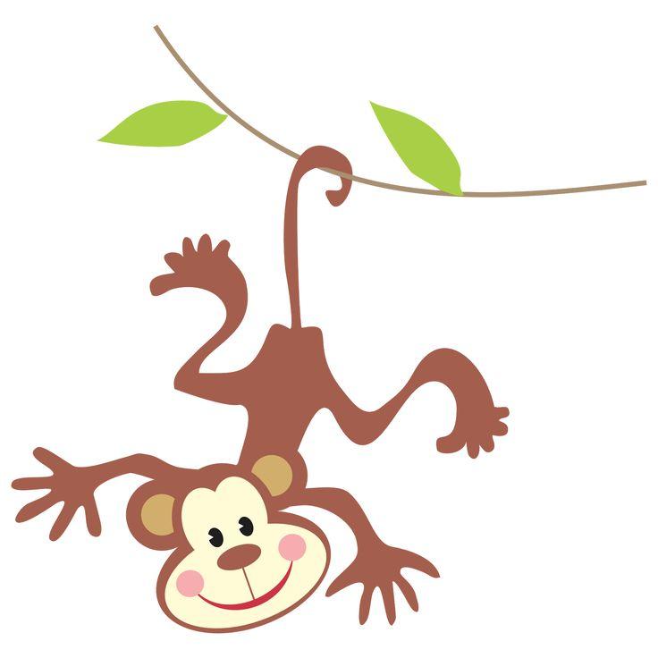 736x736 Monkey Clip Art Free