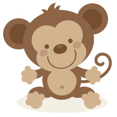 Monkey Clipart Cute
