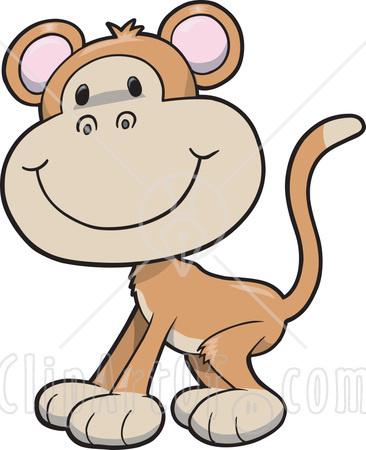 366x450 Monkey Clipart