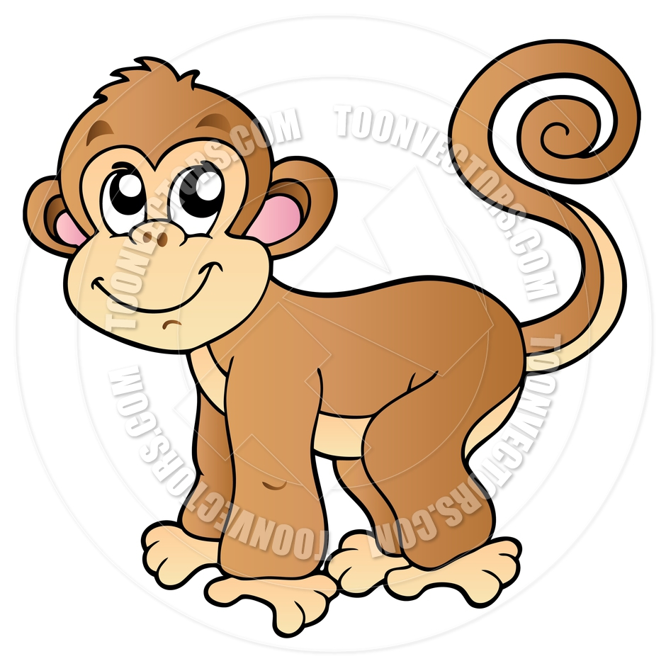 940x940 Cartoon Monkey Clipart