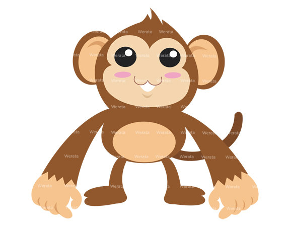 570x453 Happy Monkey Clip Art Free Vector In Open Office Drawing Svg