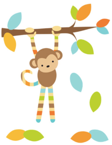 386x500 Monkey Border Cliparts Many Interesting Cliparts