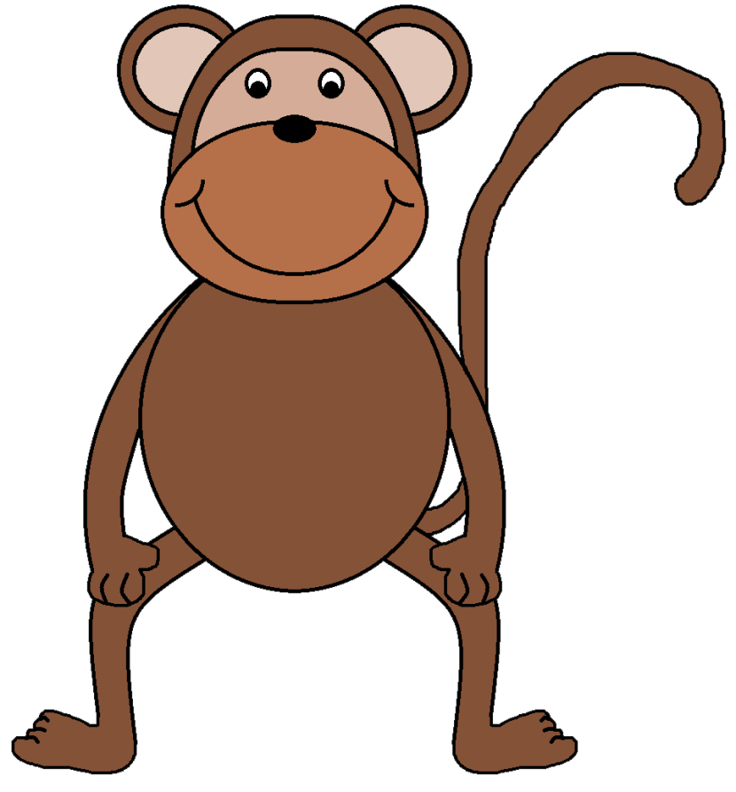 830x893 Monkey Clip Art For Teachers Free Clipart Images 3