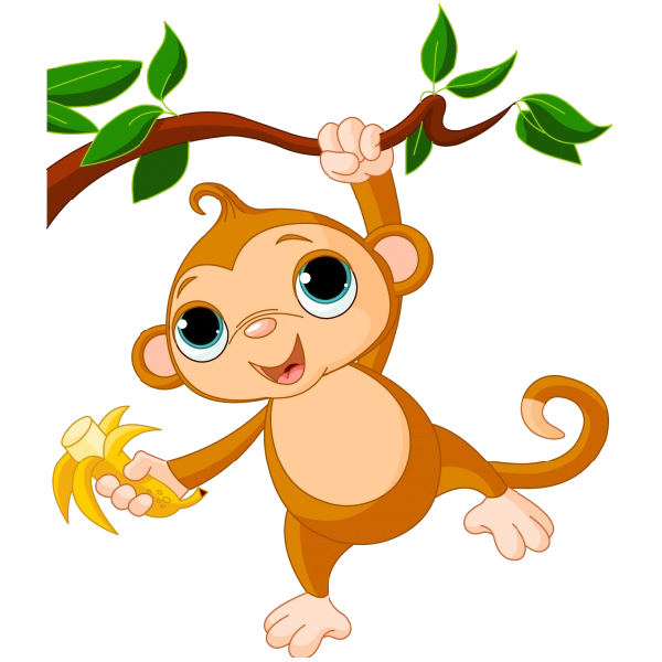 600x600 Spider Monkey Clipart Cute Monkey